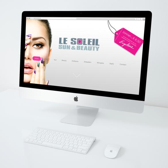 WEBSITE LE SOLEIL